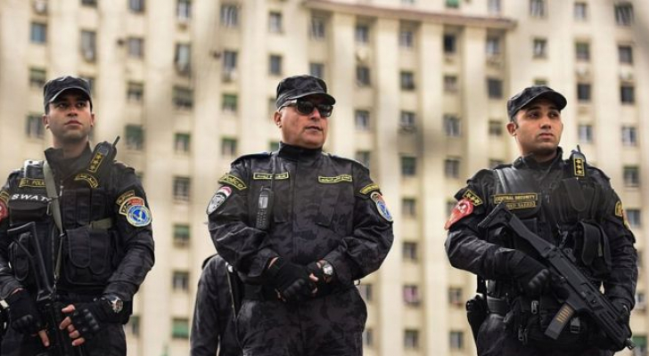 قوات تابعة للشرطة المصرية بميدان التحرير - ارشيفية