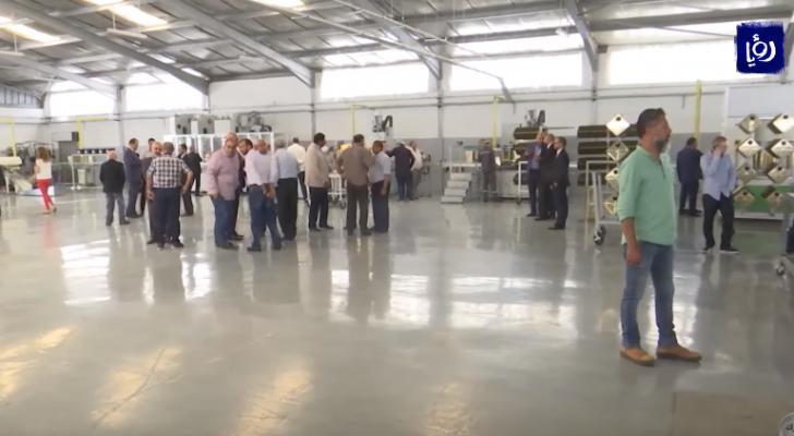 افتتاح خط أوتوماتيكي جديد لإنتاج التنك لمصنع التعليب التابع لمجموعة الصايغ