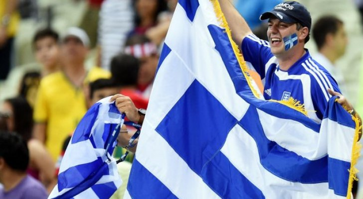 مشجعون يونانيون