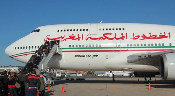 طائرة تابعة للخطوط الملكية المغربية