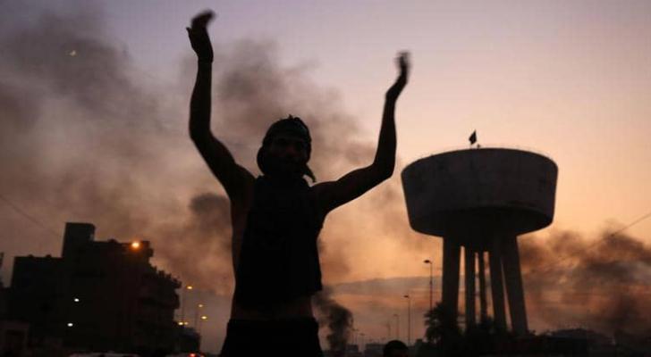 اليوم الثاني لاحتجاجات العراق شهد تصعيدا