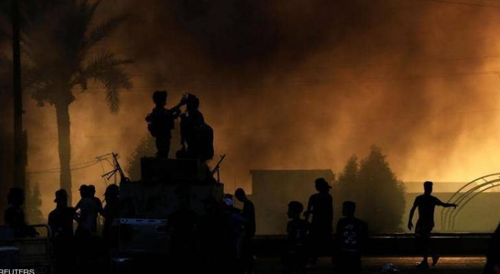 العراق تشهد احتجاجات حاشدة على مدار يومين