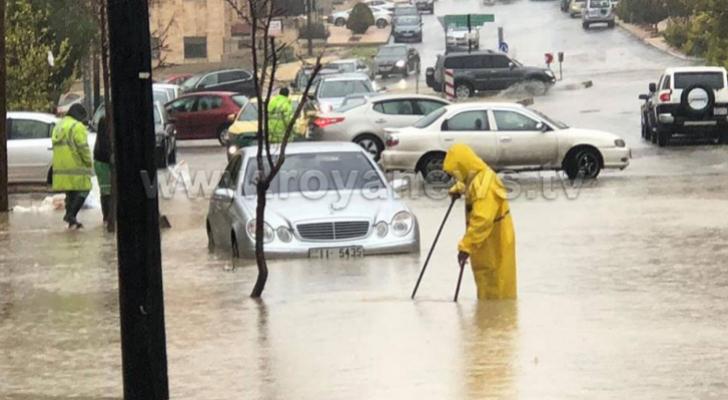 من الموسم المطري الماضي في عمان