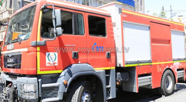 الدفاع المدني يخمد حريقا داخل  فنادق في العقبة
