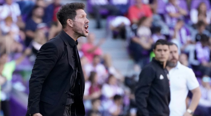 المدرب الارجنتيني لاتلتيكو مدريد دييغو سيميوني