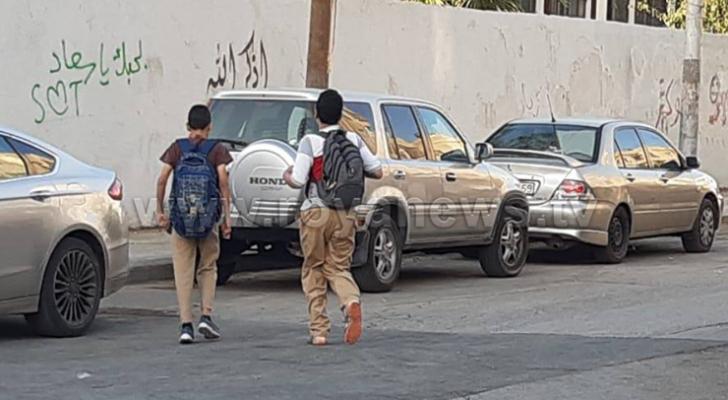 انتظام عودة الطلبة لمدارسهم بعد انتهاء الإضراب