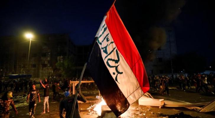 من مظاهرات العراق