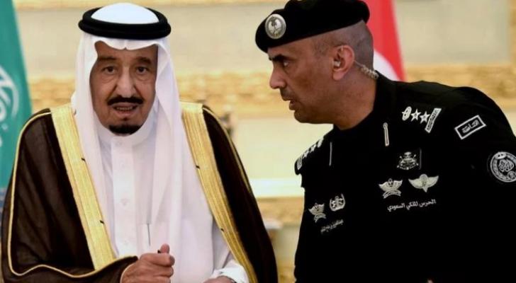 الملك سلمان واللواء المرحوم الفغم - ارشيفية