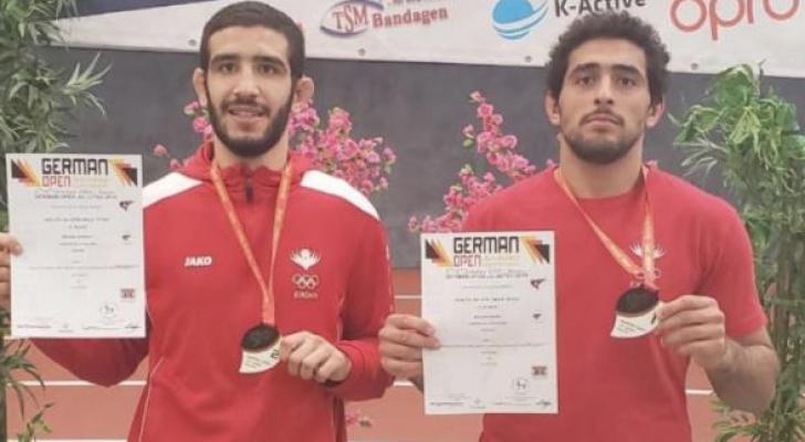 ذهبية وفضية للأردن في بطولة ألمانيا للجوجيستو