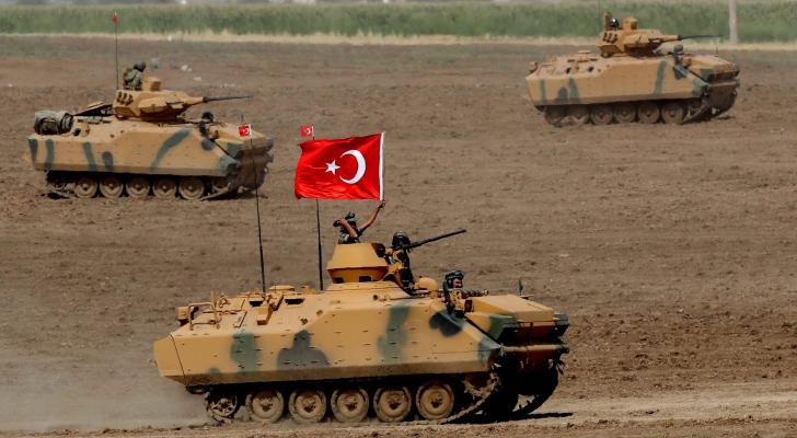 دبابات الجيش التركي