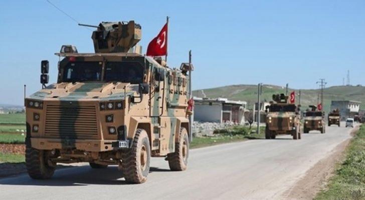 آليات عسكرية تركية في سوريا