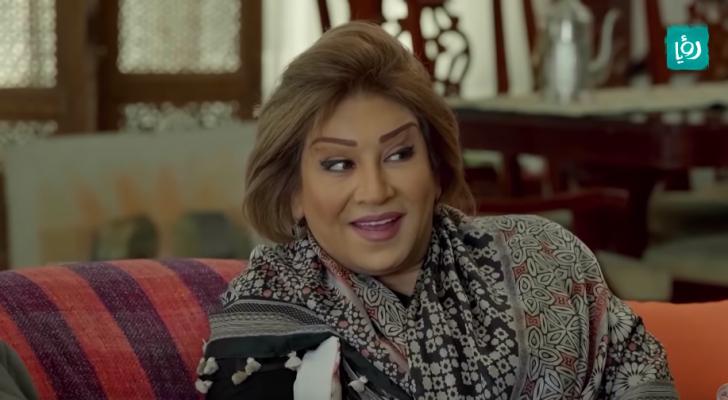 الفنانة الأردنية أمل الدباس