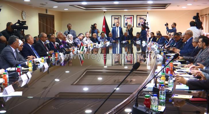 تراجع نسبة التبادل التجاري بين العراق والأردن