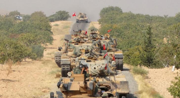 القوات التركية في سوريا