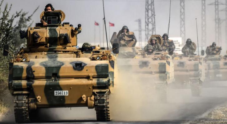 الجيش التركي على الحدود التركية السورية - ارشيفية