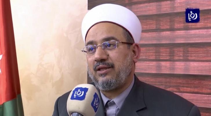 وزير الاوقاف والشؤون والمقدسات الاسلامية الدكتور عبد الناصر ابو البصل