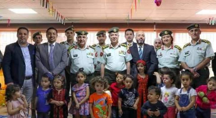 افتتاح حضانة أطفال في مستشفى الملكة علياء العسكري