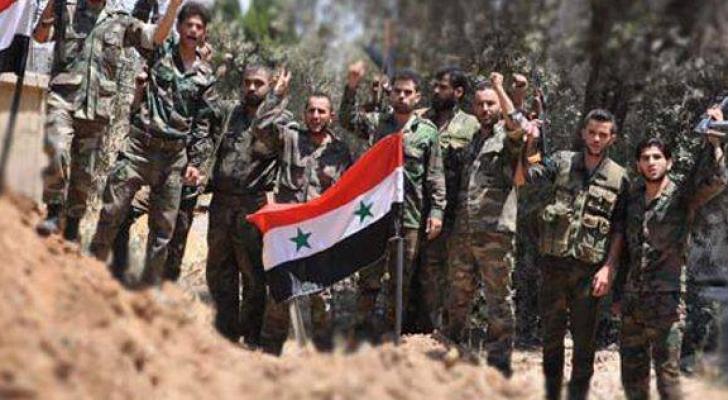وحدات من الجيش العربي السوري تتحرك باتجاه الشمال لمواجهة  الجيش التركي على الأراضي السورية