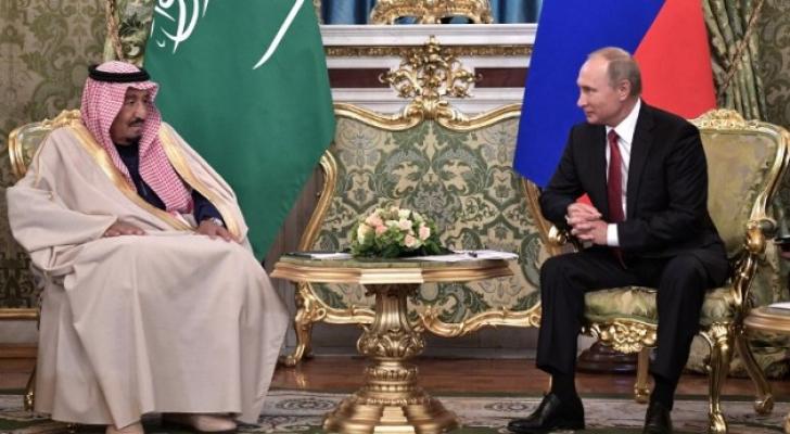 الملك سلمان والرئيس الروسي