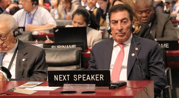 الطراونة يدعو أمام الاتحاد البرلماني الدولي إلى دعم حل الدولتين ورفض ممارسات الاحتلال