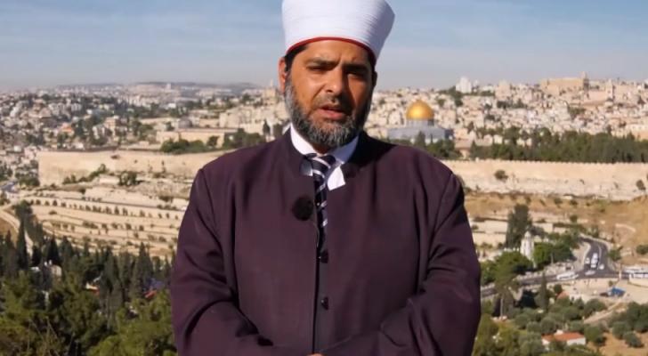 مدير المسجد الأقصى المبارك في مدينة القدس المحتلة الشيخ عمر الكسواني
