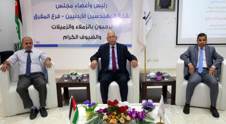 نقيب المهندسين م.أحمد سمارة الزعبي