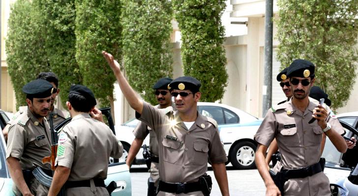 عناصر من الأمن السعودي - ارشيفية