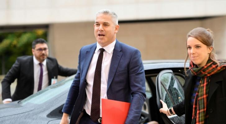المفاوض البريطاني حول بريكست ستيف باركلي يصل الى لوكسمبورغ