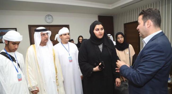 وفد من المجلس الأعلى للأمومة والطفولة الإماراتي يزور  مدينة الحسين الطبية و موقع حرير