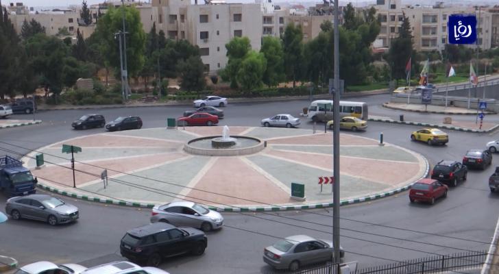 الدوار السادس بالعاصمة عمان