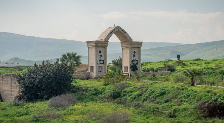 منطقة الباقورة الأردنية - أرشيفية