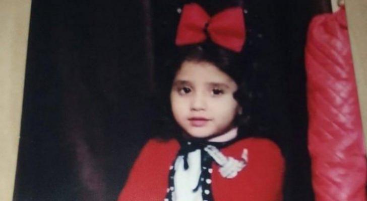 الطفلة المرحومة نيبال أبو دية