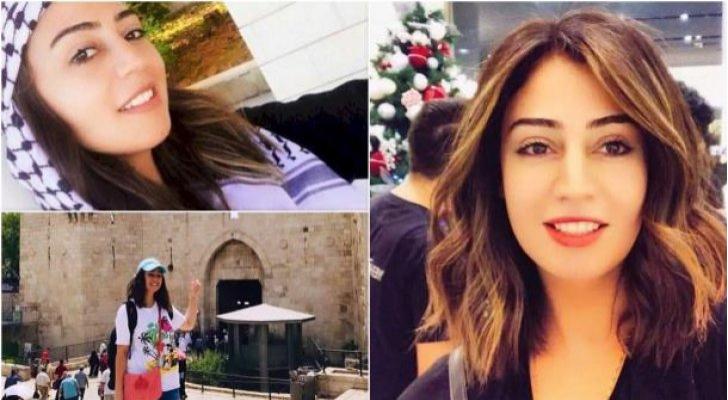 الأسيرة الأردنية هبة اللبدي المعتقلة في سجون الاحتلال