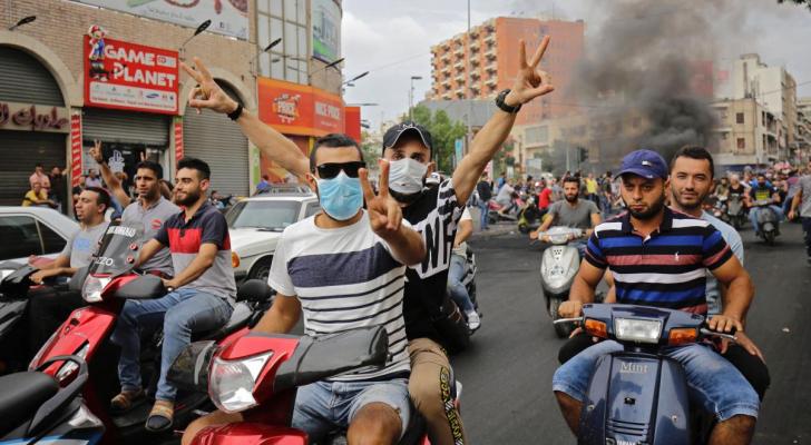 مظاهرات واسعة تشهدها لبنان