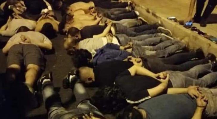 الموقوفون اللبنانيون اثر تظاهرات وسط بيروت!