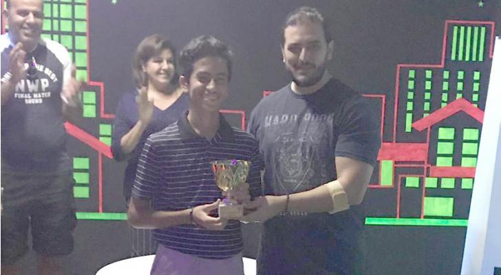 حمزة السلمان يحرز لقب بطولة الجولف المصغرة