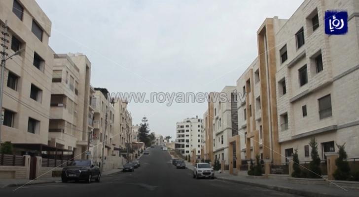 تراجع كبير في النشاط العمراني في الأردن