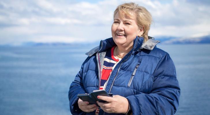 رئيسة وزراء النرويج إرنا سولبيرغ