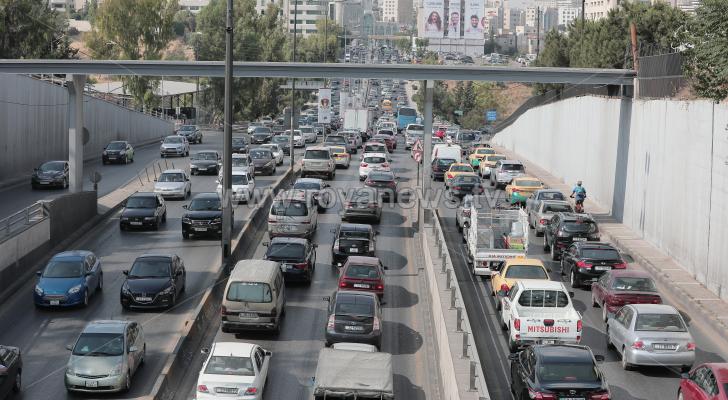الطرق في العاصمة عمان
