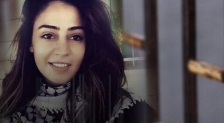 الاسيرة الأردنية في سجون الاحتلال هبة اللبدي