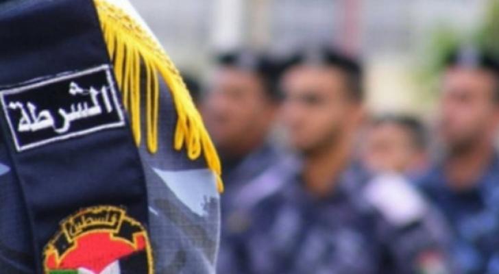 شرطة فلسطينية- ارشيفية