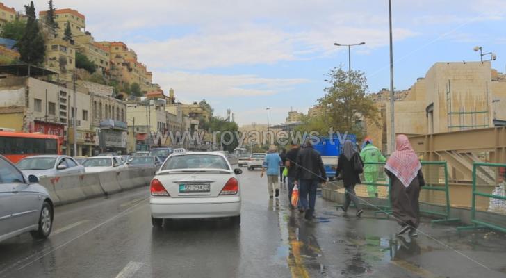 طقس الأردن ليوم الاثنين: طقس خريفي لطيف وفرصة اهطول زخات من المطر