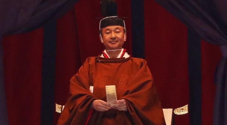 امبراطور اليابان ناروهيتو يعلن رسميا تنصيبه