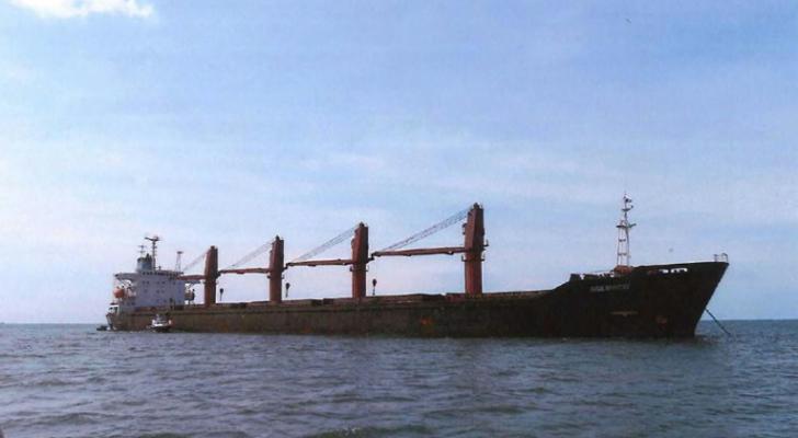 """سفينة الشحن الكورية الشمالية """"وايز أونست"""" المتهمة بانتهاك العقوبات الدولية"""