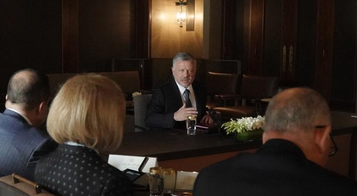 الملك يواصل مشاركته في ورشات عمل نقاشية لدفع الاقتصاد وتحسين أوضاع المواطنين المعيشية