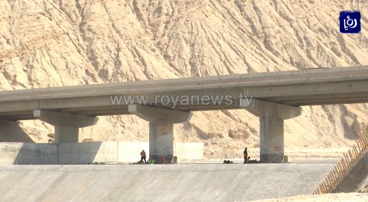 مواعيد متضاربة للموعد النهائي لإنجاز إعادة تأهيل جسور البحر الميت