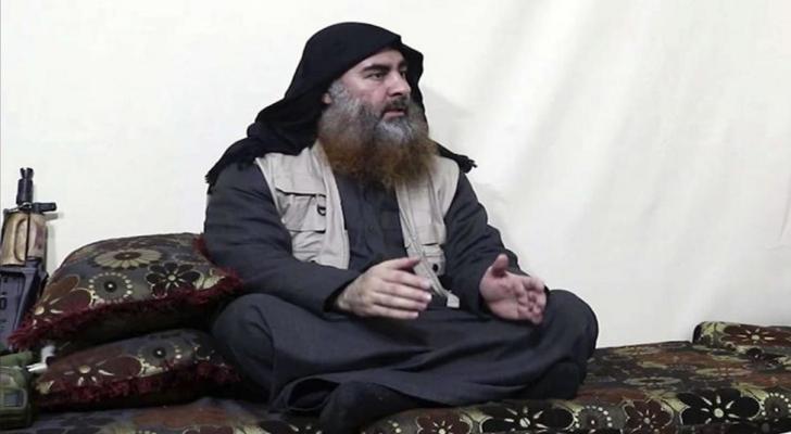 زعيم تنظيم داعش الارهابي أبوبكر البغدادي