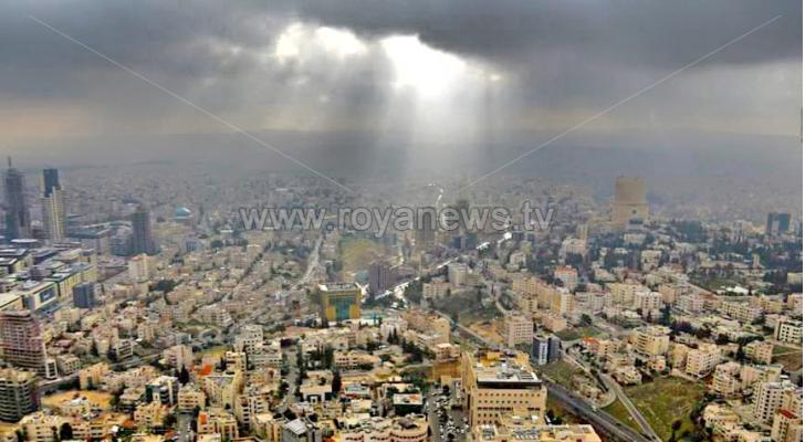 جانب من العاصمة عمان