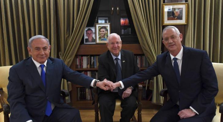 """""""الاحزاب المتدينة"""" تدعم مبادرة """"ازرق ابيض"""" لتشكيل حكومة مع """"الليكود"""""""