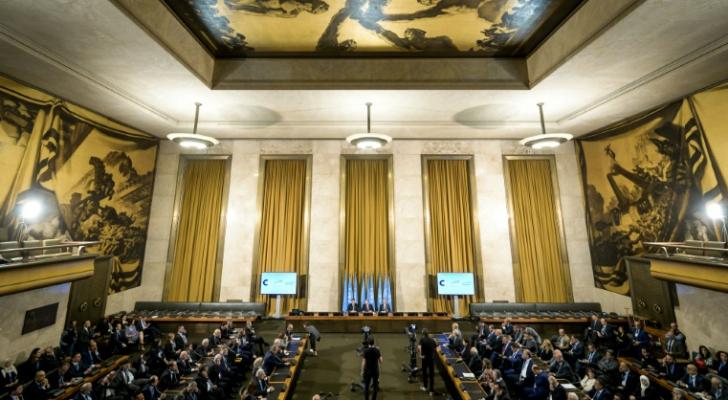 افتتاح اجتماع اللجنة الدستورية السورية في جنيف الأربعاء 30 تشرين الاول/أكتوبر 2019